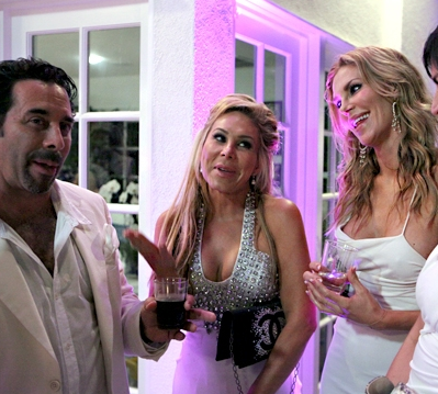 Sneak Peek: Brandi Glanville VS Adrienne And Paul; Brandi And Paul In